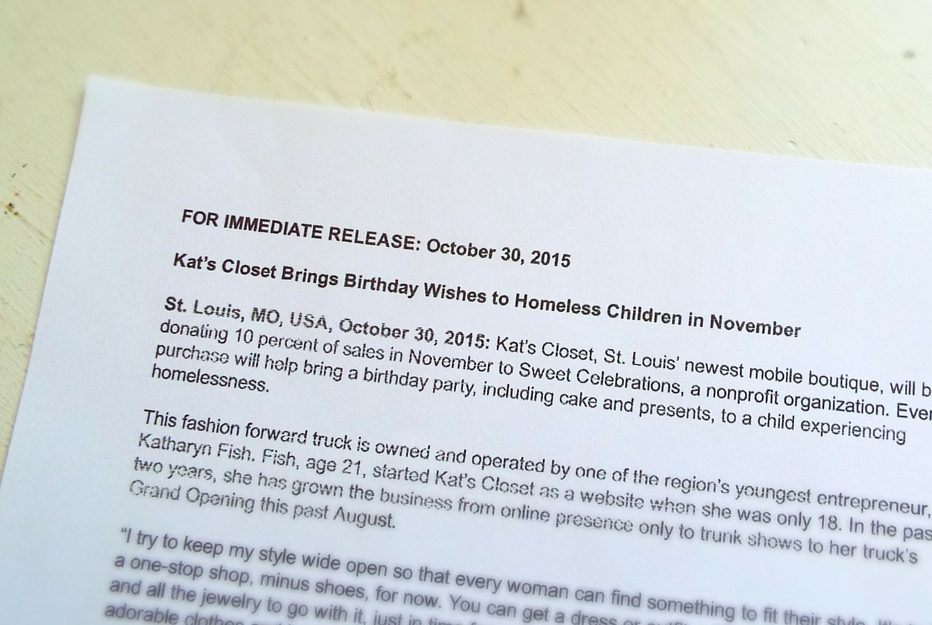 Sincerely Me Press Release